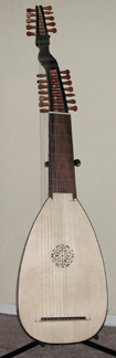 baroque lute photo